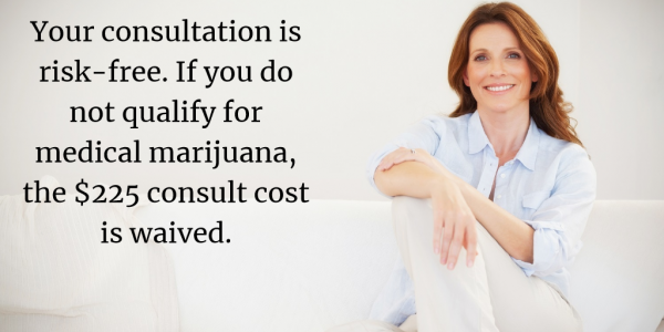Access Marijuana risk-free medical marijuana consultation